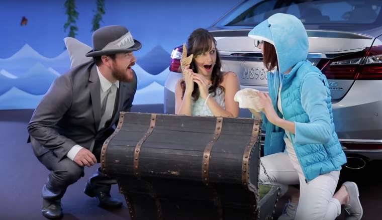 """Storytime with the Accord"" video for the 2016 Honda Accord"