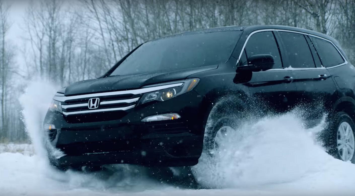 2016 Honda Pilot Shows Off AWD Capability in Baudette, Minnesota | The News Wheel