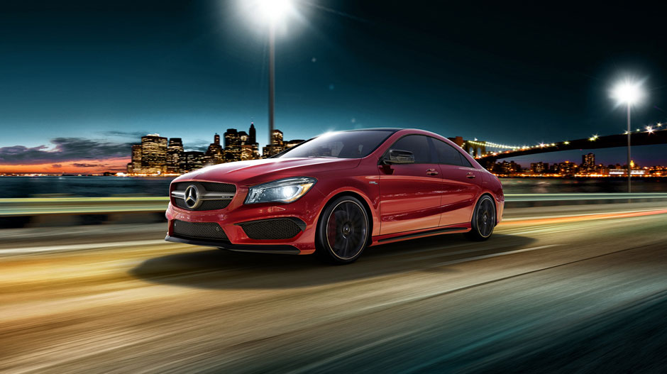 2016 mercedes benz cla red the news wheel for Mercedes benz orange county