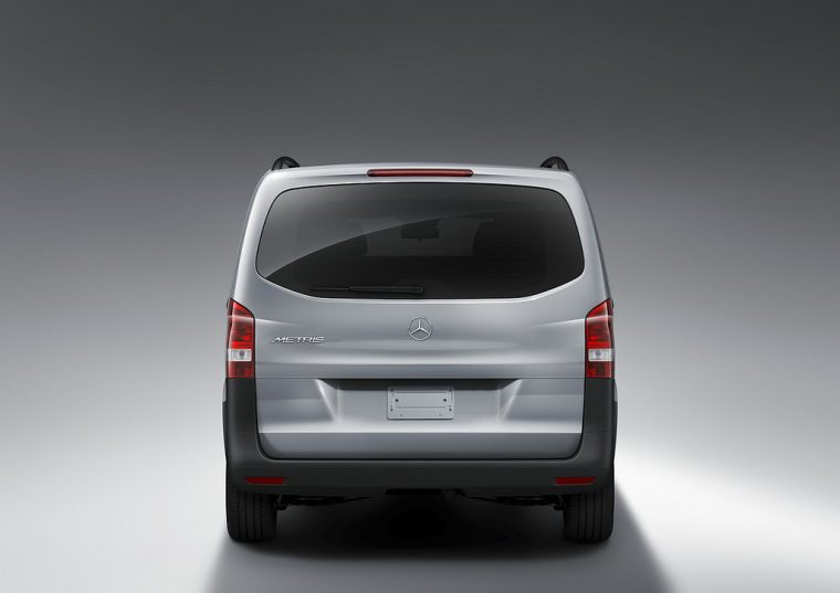 The 2016 Mercedes-Benz Metris features a 208 hp four-cylinder engine and is available as either a cargo or passenger van