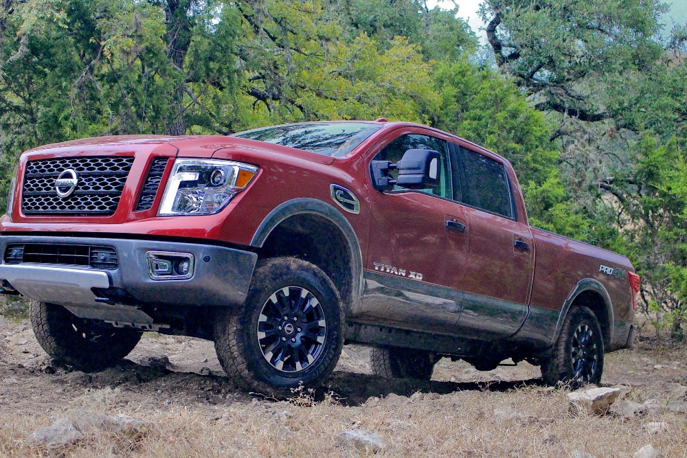 2016 Nissan Titan Four Wheel Drive The News Wheel