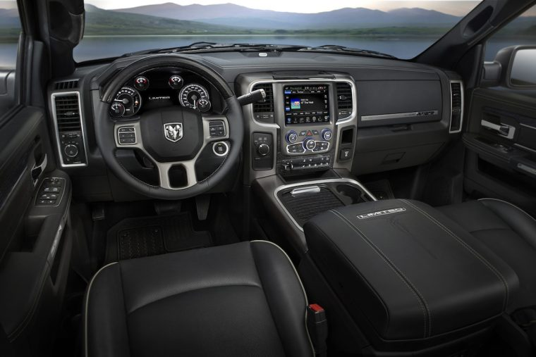 2016 Ram Heavy Duty Laramie Limited interior