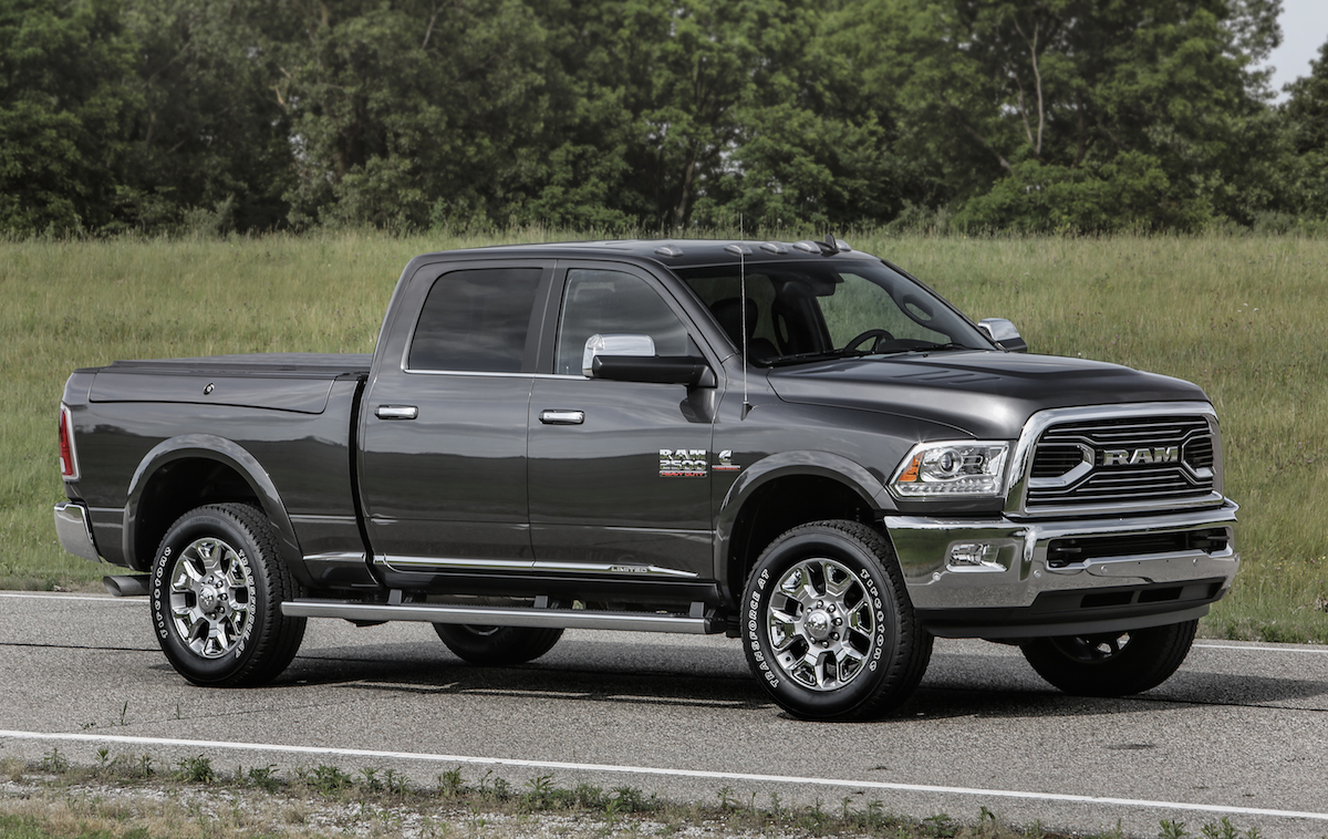 2016 ram 2500 limited crew cab 4 4 the news wheel. Black Bedroom Furniture Sets. Home Design Ideas