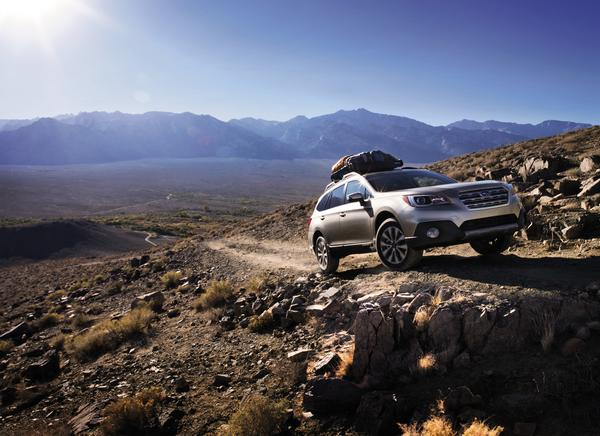 The 2016 Subaru Outback was named to KBB's list of the 16 Best Family Cars of 2016