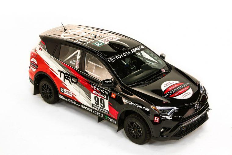 2016 Toyota Rally RAV4 - Toyota RAV4 TRD