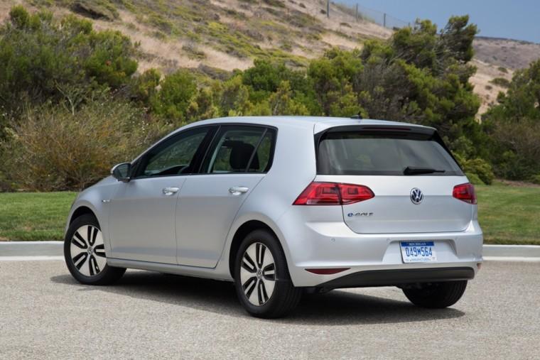 2016 VW e-Golf Exterior