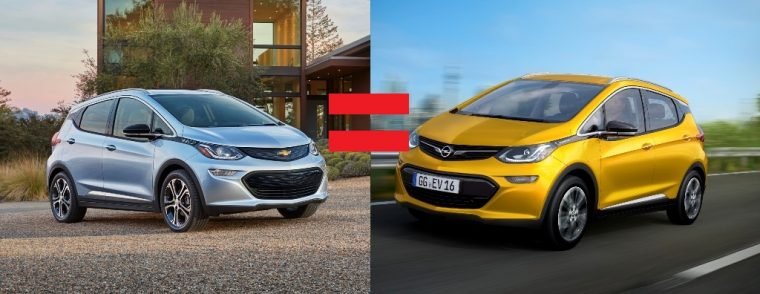 2017 Bolt and 2017 Ampera-e