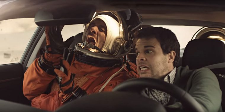 2017 Hyundai Elantra Space Shuttle Crew Rescue Extreme Boldness Commercial maneuver