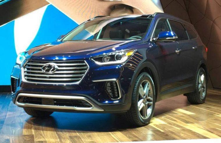 2017 Hyundai Santa Fe at Chicago Auto show