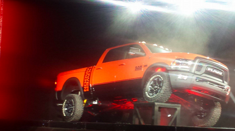 2017 Ram Power Wagon Off-Roading