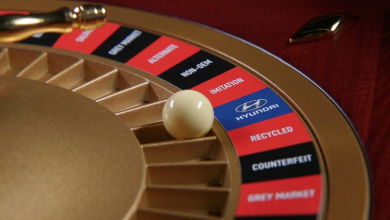 Hyundai genuine parts roulette gamble