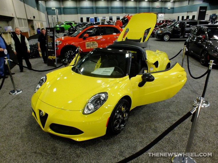 These were the five most eye-pleasing vehicles from the 2016 Dayton Auto Show