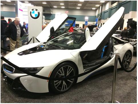 BMW dayton auto show