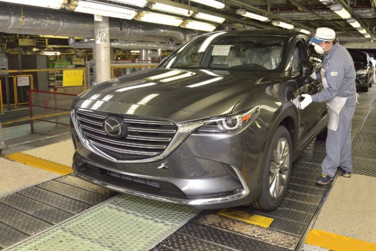 Mazda CX-9 Production