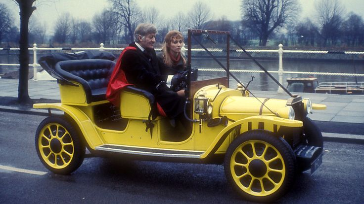 Doctor Who Bessie Car