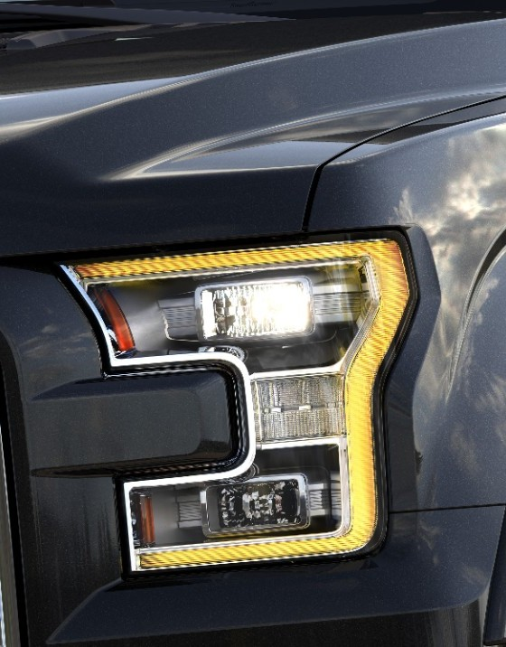 Ford Designed New Crystal Diamond Light LEDs with ...