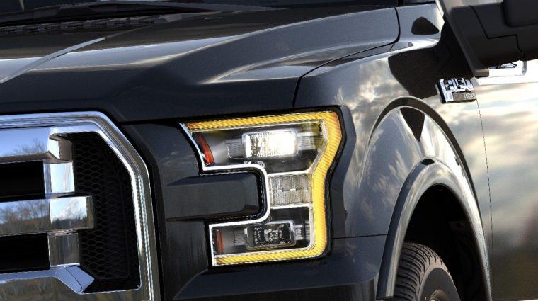 Ford F-150 Crystal Diamond Headlights