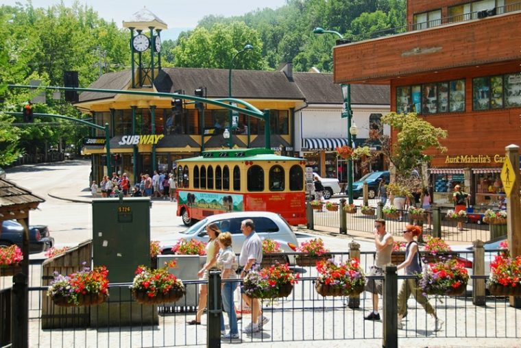 Gatlinburg Tennessee Downtown