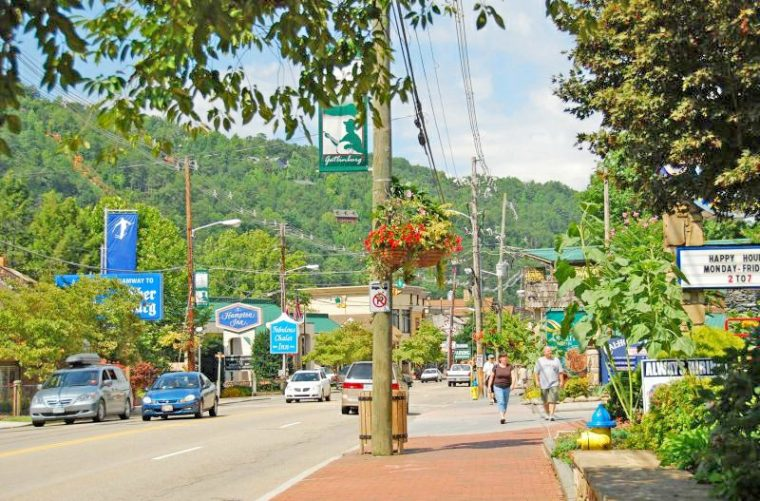 Gatlinburg Tennessee Main Strip