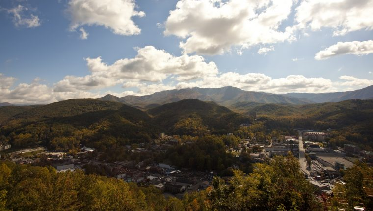 Gatlinburg Tennessee View
