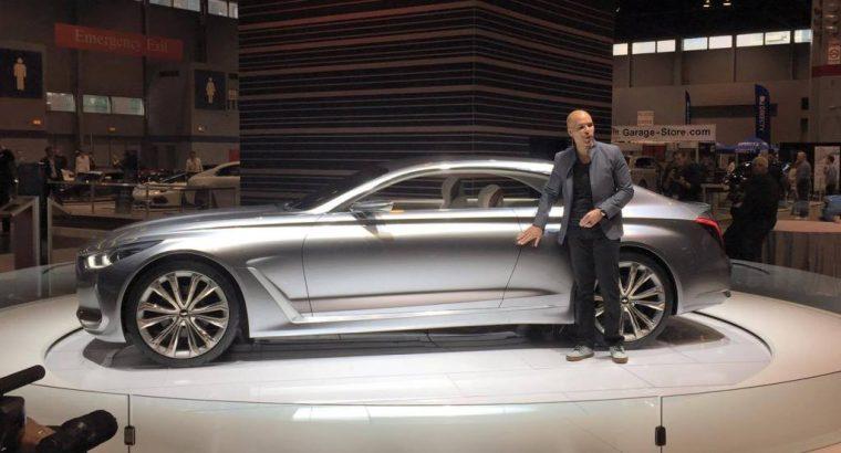 Genesis Vision G Concept car at Chicago Auto Show presentation