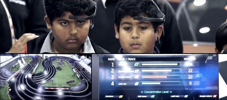 Hyundai Mind Racing Experience at India Auto Expo
