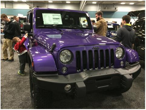 Jeep dayton auto show