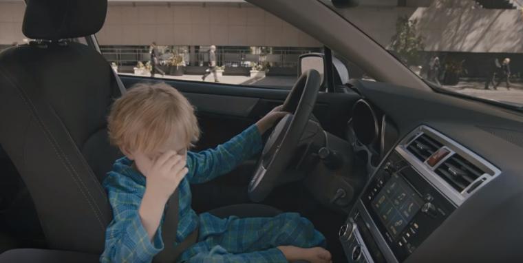 Jr. Driver Subaru Legacy Ad