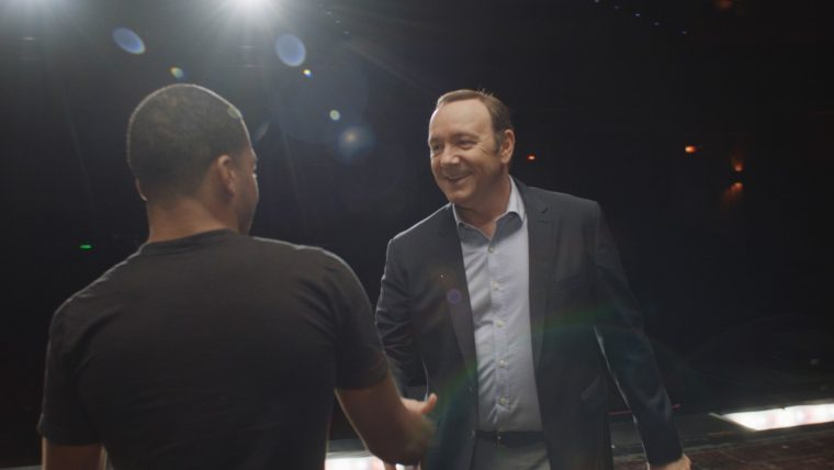 Kevin Spacey surprises aspiring actor as part of Chevrolet #DayItForward campaign
