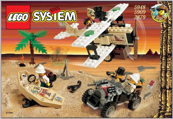 LEGO Adventurer Desert Expedition Set 5948