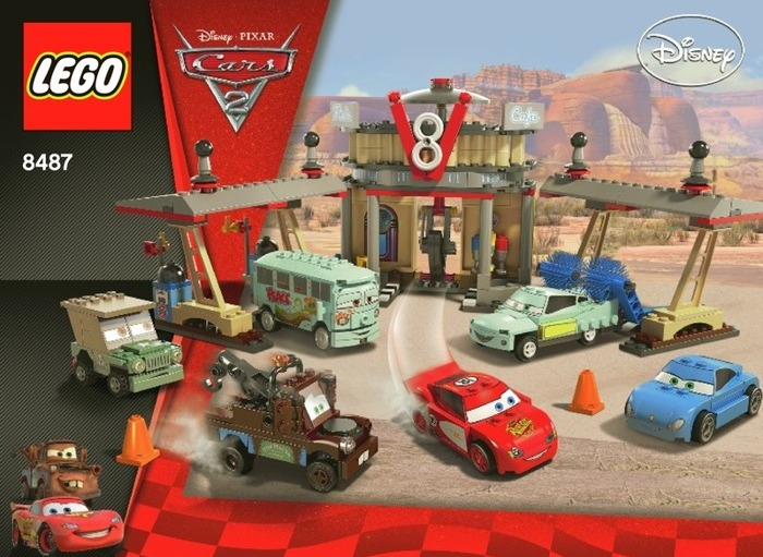LEGO Cars 2 Flo's Cafe set 8487