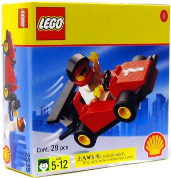 LEGO Formula 1 Race Car Set 2535
