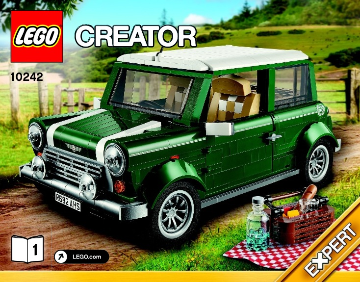 LEGO MINI Cooper set 10242