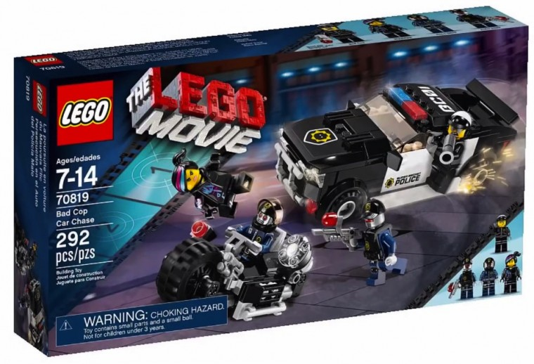 LEGO Movie Bad Cop Car Chase Set 70819