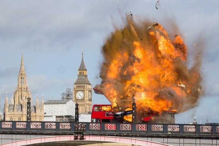London Bus Explosion