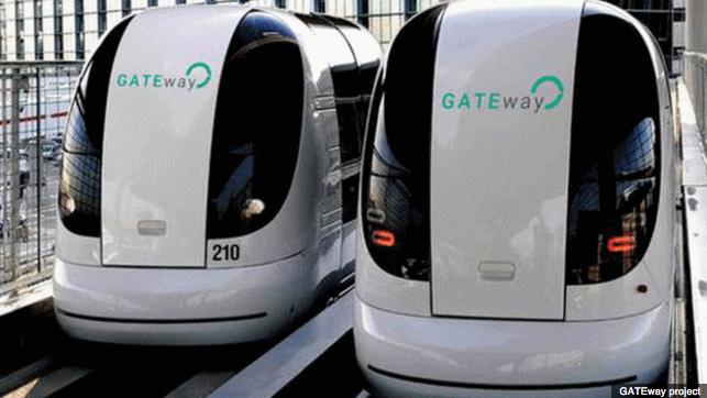 London Heathrow Airport UltraPODs Shuttle