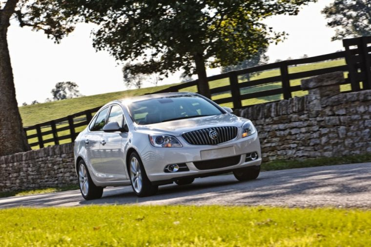 The 2016 Buick Verano earned KBB.com's 5-Year Cost to Own Award for the entry-level luxury car segment