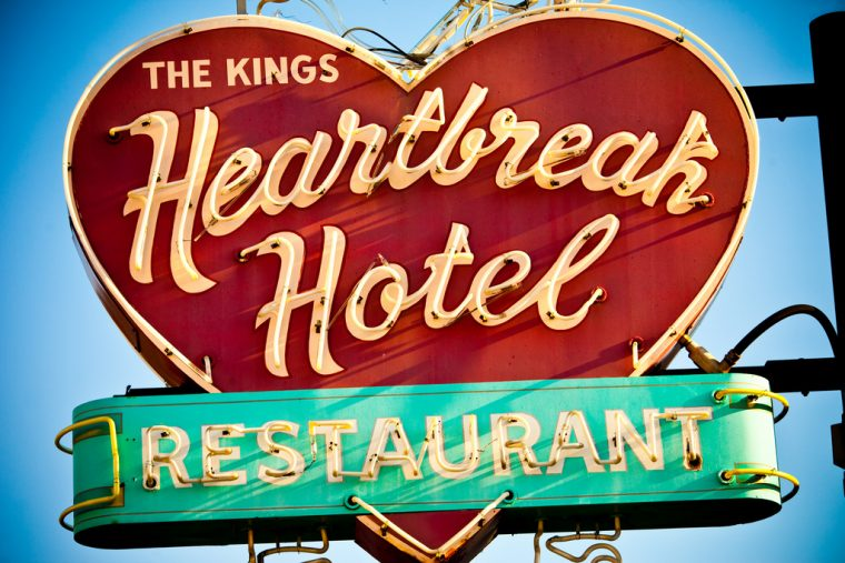 Memphis Tennessee Heartbreak Hotel