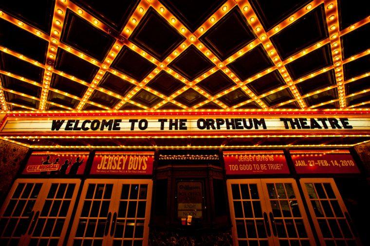 Memphis Tennessee Orpheum Theatre