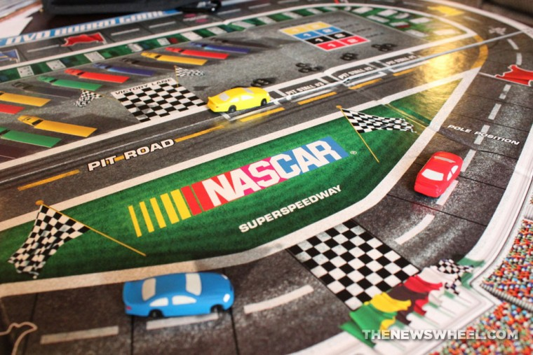 NASCAR DVD Board Game Review play through