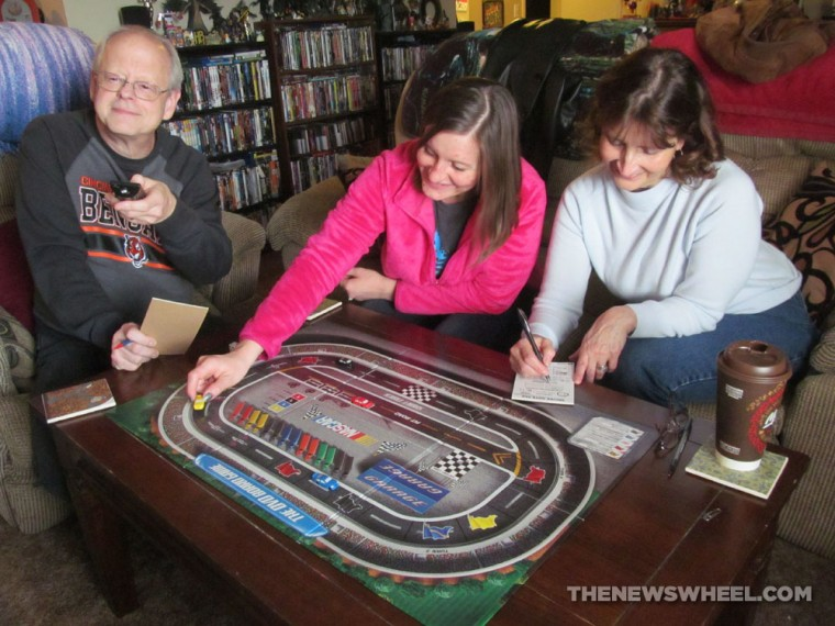 NASCAR DVD Board Game Review players