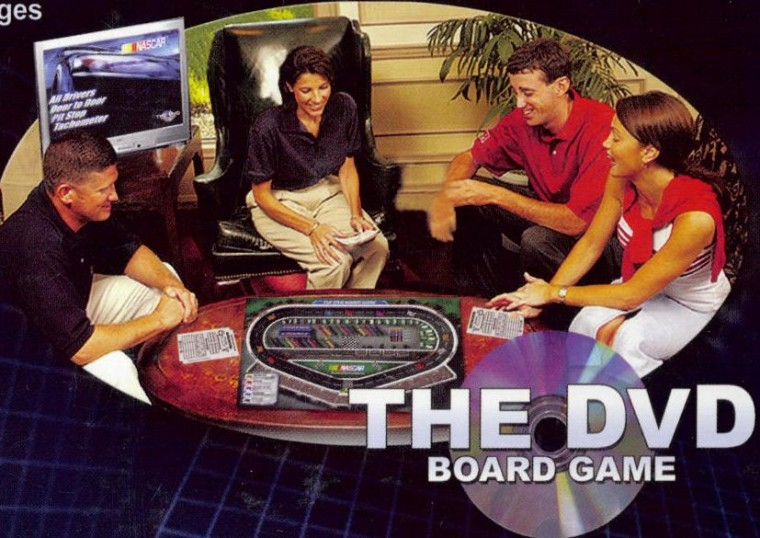 NASCAR DVD Board Game preppy players