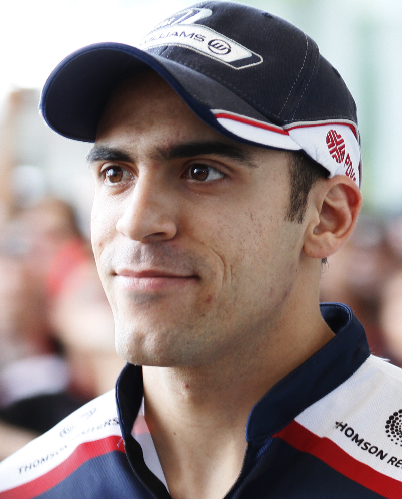 Pastor Maldonado earned a  million dollar salary, leaving the net worth at 11 million in 2017