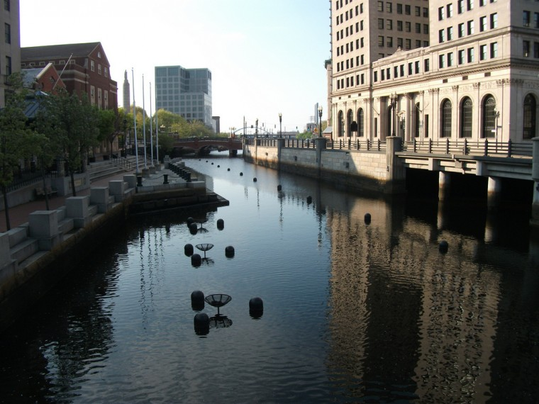 Providence, Rhode Island Canal