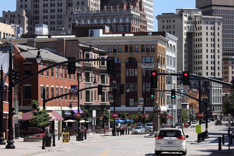 Providence, Rhode Island Intersection
