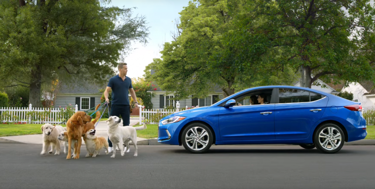 Ryan Reynolds Super Bowl 50 commercial 2017 Hyundai Elantra