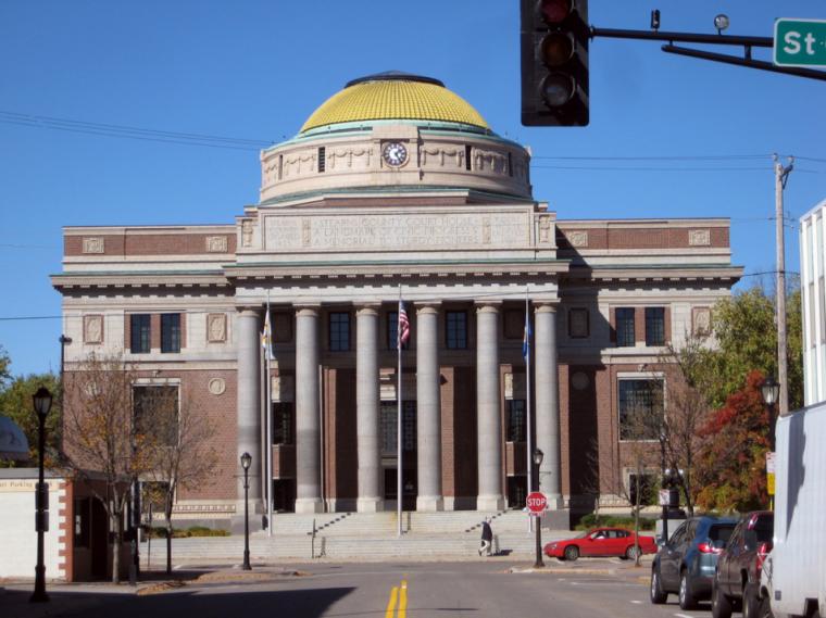 St Cloud Minnesota Stearns County Courthouse