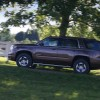The 2016 Chevy Tahoe comes standard with roof-mounted luggage rack side rails