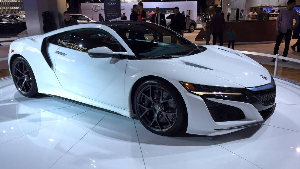 2017 Honda Accord White >> [PHOTOS] Acura Brings White NSX To Cold Chicago for the 2016 Auto Show - The News Wheel