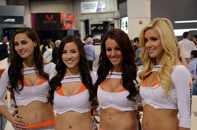 Vegas Car Show Girls
